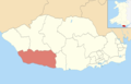 Vale of Glamorgan UK ward location - Llantwit Major.png