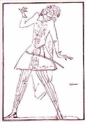 Teseo - Caricature of Valentino Urbani, who created the role of Egeo.