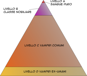 Vampire Level Pyramid of Vampire Knight manga....