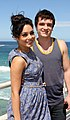 Vanessa Hudgens and Josh Hutcherson (6718755231).jpg
