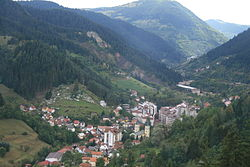 View on Vareš