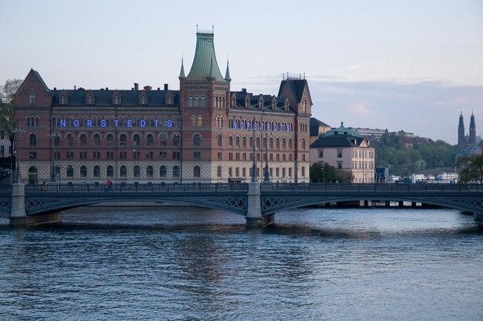 Vasabron Riddarholmen Norstedts