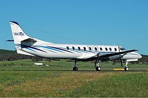 Vee H Aviation Fairchild SA227-DC Metro 23 CBR Gilbert-2.jpg