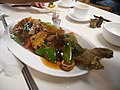 Vegetarian fish dishes in Gala Veggie.jpg