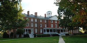 Men's colleges in the United States - Venable Hall at all-male Hampden–Sydney College