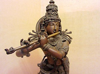 Bansuri - Krishna with a bansuri is sometimes referred to as Venugopal