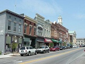 Versailles, Kentucky - Main Street