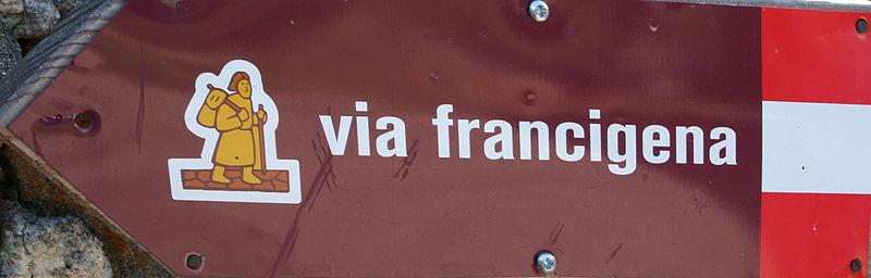 File:Via-Francigena-sign-cut.jpg