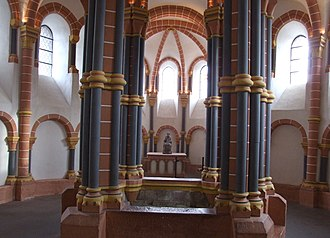Vianden Castle - Image: Vianden Castle Chapel