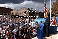Vice President Bush attends a campaign rally in Medina, OH. 07 Oct 88.jpg