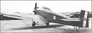 Vickers Vireo - Image: Vickers 125 Vireo rear quarter view