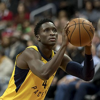 Victor Oladipo - Oladipo with the Pacers in March 2018