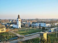 View from the Evangelical Church Tower in Kisach.JPG