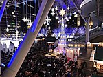 View in front of Hakata Station at night 20181213-2.jpg
