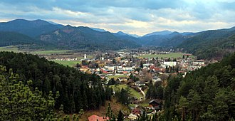 Pernitz - Image: View of Pernitz, Lower Austria