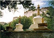 View of Potala from side