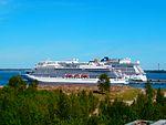 Viking Sea and Norwegian Getaway at pier in Port of Tallinn 6 June 2017.jpg