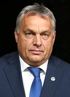Hungarian politician, chairman of Fidesz