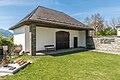 Villach Maria Gail 18-November-Platz Friedhof Aufbahrungshalle SO-Ansicht 21042017 7875.jpg