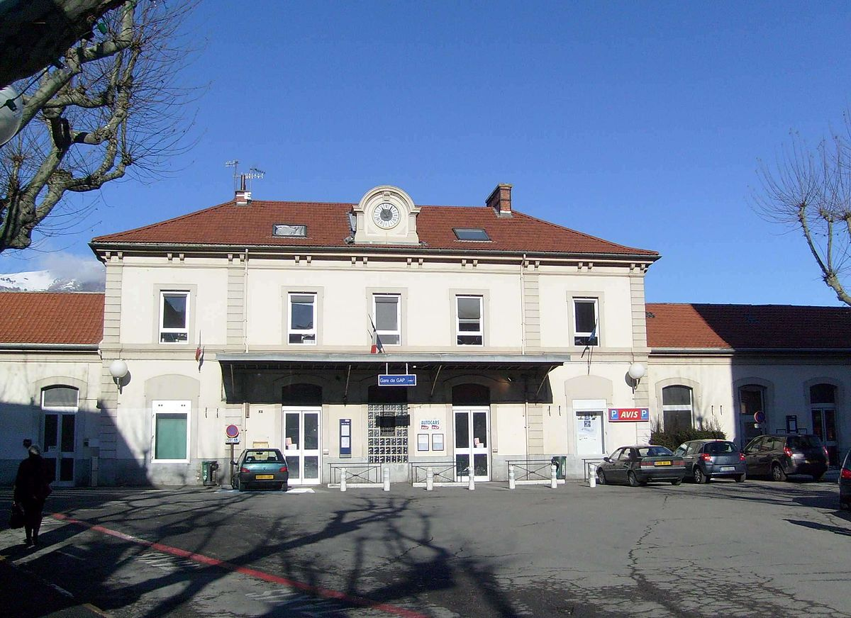 Gare de gap wikip dia for Garage de la gare bretigny