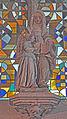 Villedieu-les-Poêles (France), Statue of Education of Virgin Mary.jpg