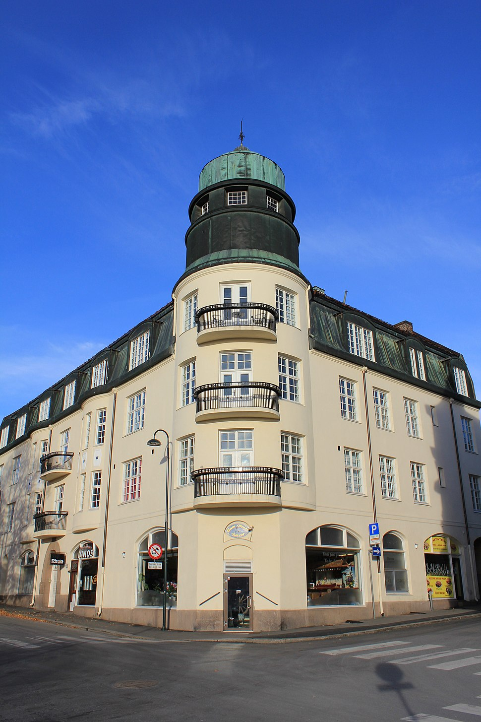 Vingården i Jernbanegata 2 på Gjøvik