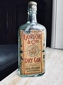 1912 bottle of Gordon's Gin