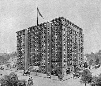 Leander J. McCormick - Sketch of Virginia Hotel from 1893 brochure