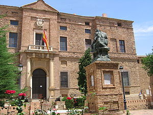 Álvaro de Bazán, 1st Marquis of Santa Cruz - National Record Office of Spanish Navy, located in Santa Cruz Palace, Viso del Marqués, Spain.