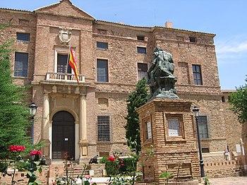 Palacio de Álvaro de Bazán en Viso del Marqués.