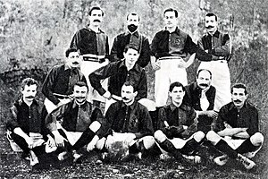 FC Barcelona - A formation of FC Barcelona in 1903