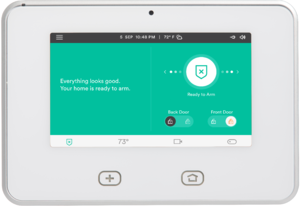 Vivint - The Vivint Skycontrol touchscreen smart home hub.