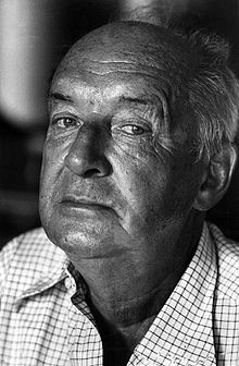 Nabokov in Montreux, Switzerland, 1973
