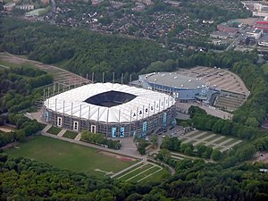 Imtech Arena und O2 World Hamburg