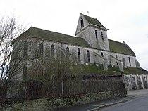 Voulton (77) Eglise priorale Vue septentrionale.jpg
