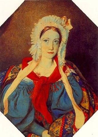 Вяземская, Прасковья Петровна — средняя дочь