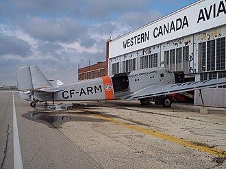 Royal Aviation Museum of Western Canada - Image: WCAM front