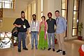 WMF Officials with Volunteers - Wiki Conference India - CGC - Mohali 2016-08-07 8707.JPG