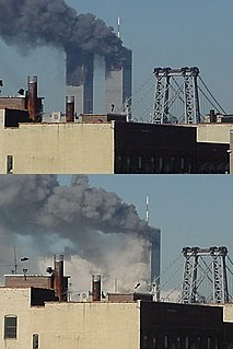 Collapse of the World Trade Center collapse of the World Trade Center in New York City on September 11, 2001