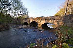 Adams Avenue Bridge - Adams Ave Bridge in 2010
