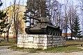 WW2 Tank Memorial Kezmarok.JPG