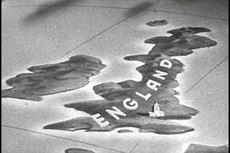 "Terminology of the British Isles - A still from the 1943 US propaganda film series Why We Fight, which suggests that the name ""England"" applies to the whole of Great Britain"