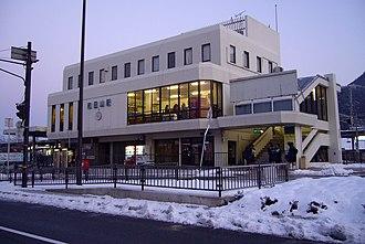 Wadayama Station - Image: Wadayama st 08 960