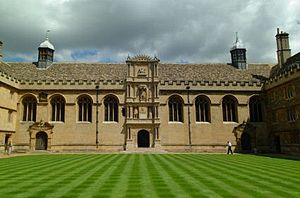 Wadham College cover