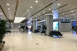 Waiting room of Daxing Airport Railway Station (20190925172423).jpg