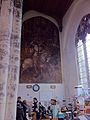 Wall painting of St George in St Gregory's Church, Norwich.jpg