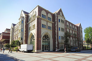 USC Annenberg School for Communication and Journalism - Wallis Annenberg Hall, unveiled on Oct. 1, 2014, is a five-story, 88,000 square-foot building.