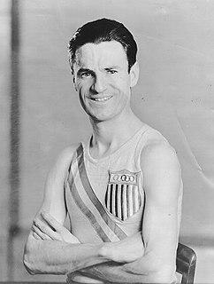 Walter Gegan American middle-distance runner