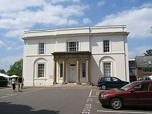 Open University - Walton Hall manor house, the vice-chancellor's office and the second oldest building on the OU Campus.
