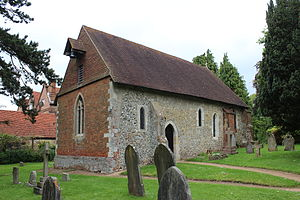 Wanborough, Surrey - St Bartholomew's Church